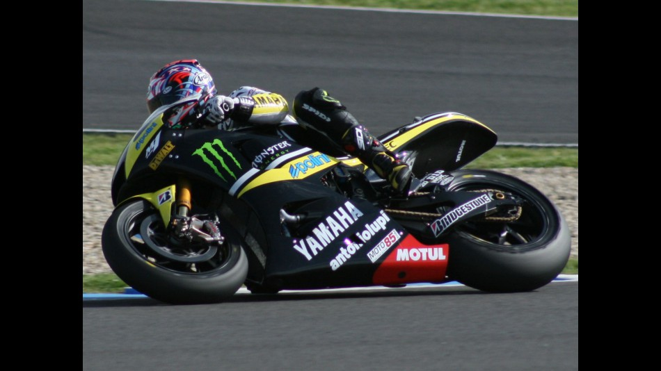 Colin Edwards at the Jerez circuit