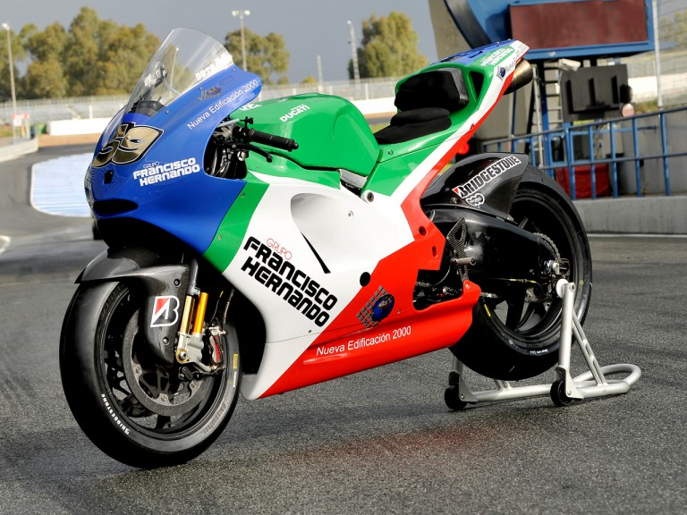 Grupo Francisco Hernando bike unveiling in Jerez