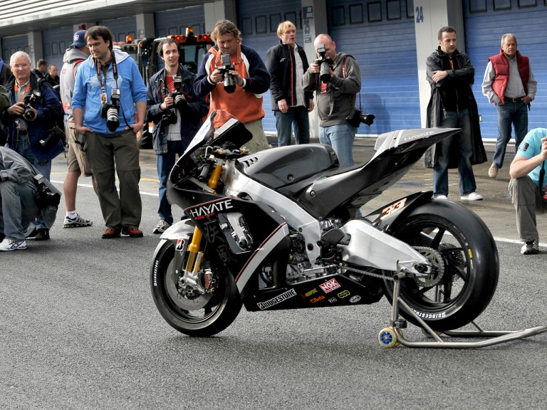 Hayate Racing bike unveiling in Jerez
