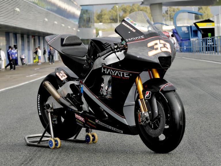 Hayate Racing bike unveiling in Jerez