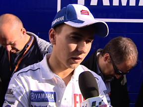 Lorenzo happy with Jerez Saturday success
