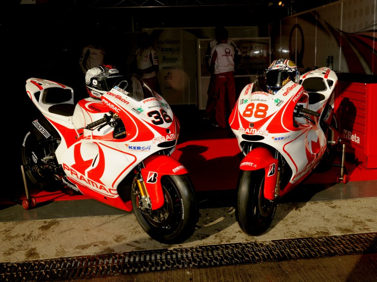 Pramac Racing bike unveiling in Jerez