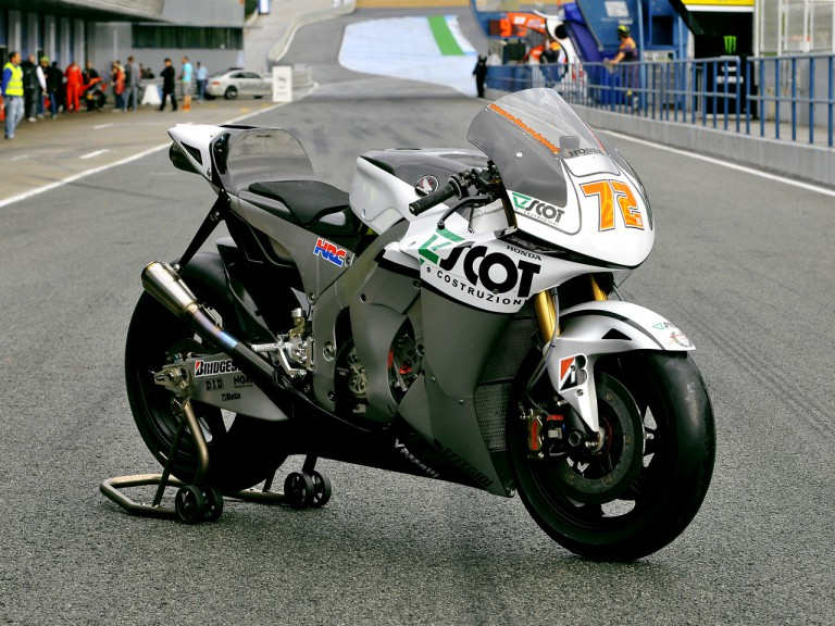 Scot Racing bike unveiling in Jerez
