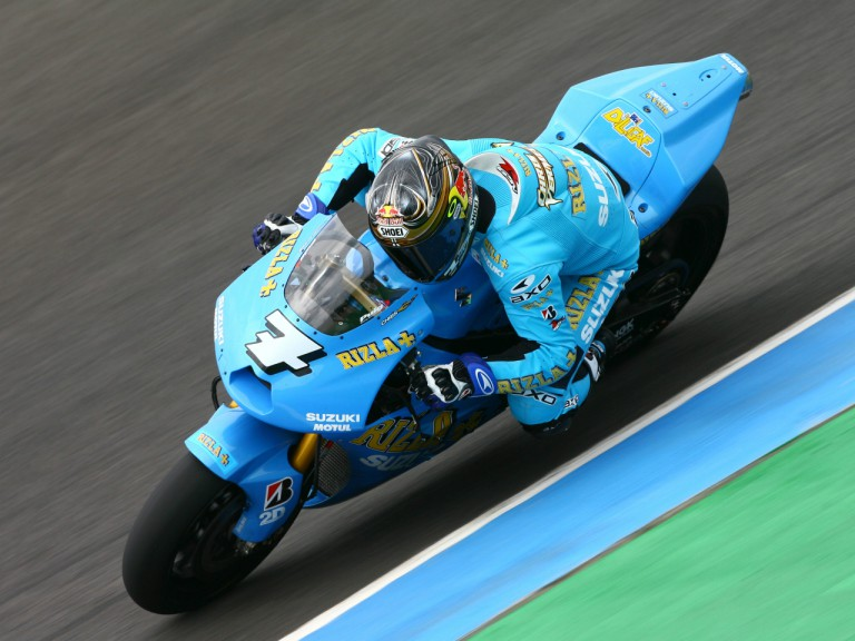 Chris Vermeulen at the Official MotoGP Test in Jerez