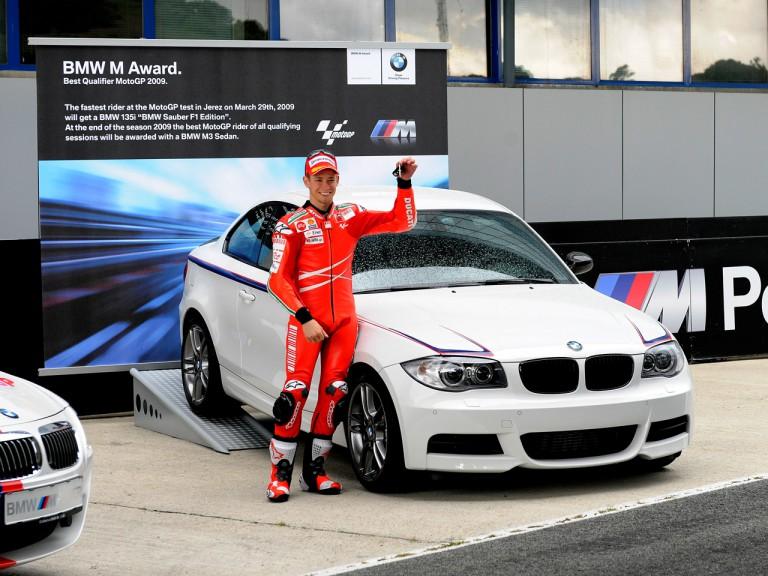 Delighted Stoner picks up BMW 135i keys