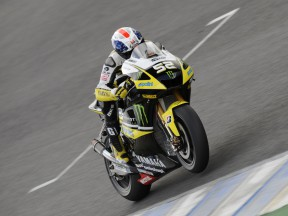 James Toseland at the Official MotoGP Test in Jerez