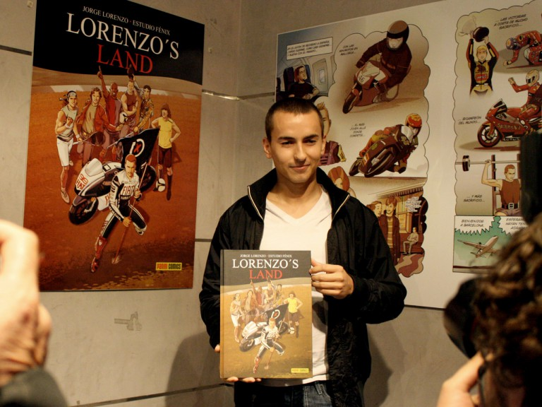 Lorenzo´s Land book launch in Barcelona