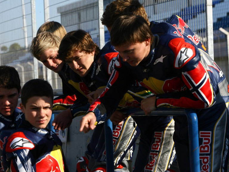Red Bull MotoGP Rookies at the Jerez test