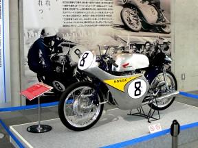 Honda history bikes in Honda Collection Hall