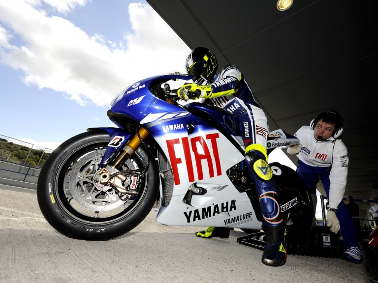 Valentino Rossi set to leave the Yamaha garage