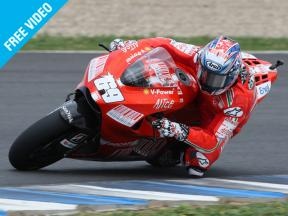 Nicky Hayden talks of his feelings on joining Ducati and his rivals for 2009