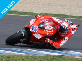 Casey Stoner reflects on 2008 and looks forward to 2009