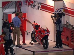 Stoner's Ducati Desmosedici