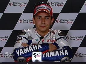 Lorenzo interview after QP Qatar