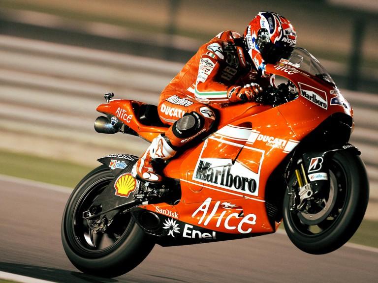 Ducati Casey Stoner at Losail Circuit