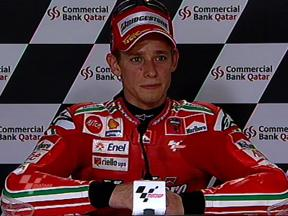 Stoner interview after QP in Qatar
