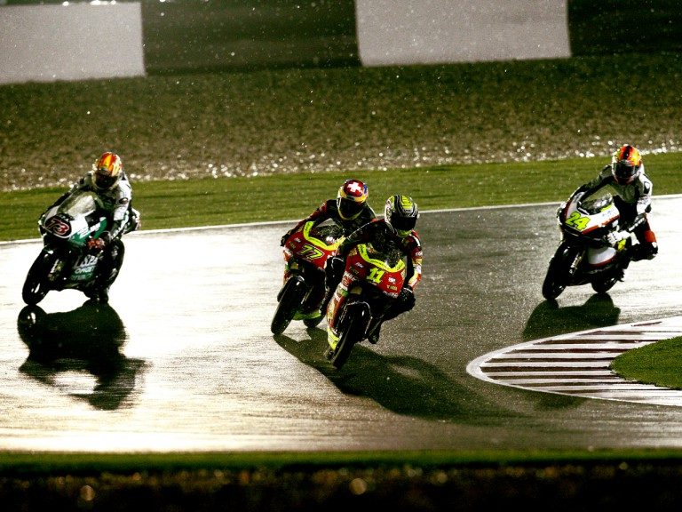Qatar 125cc rain interrupted race