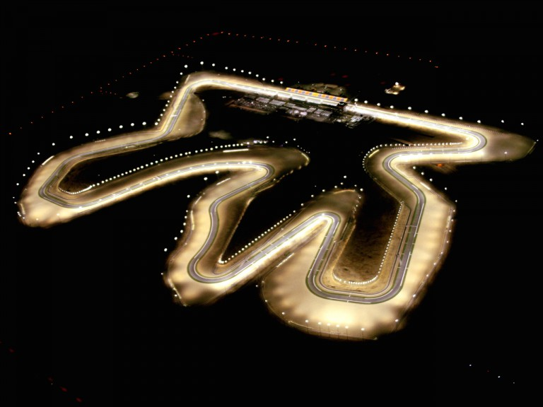 Aerial View of Losail International Circuit