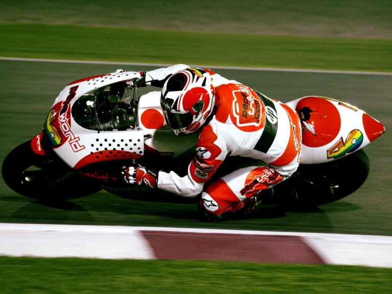 Héctor Barberáin action at Losail International Circuit