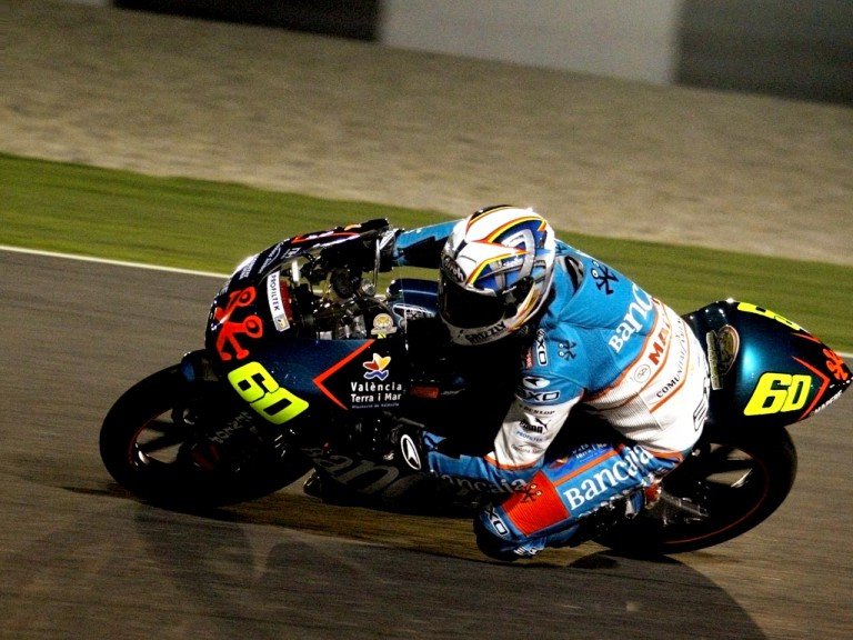 Julian Simon in action at Losail Circuit