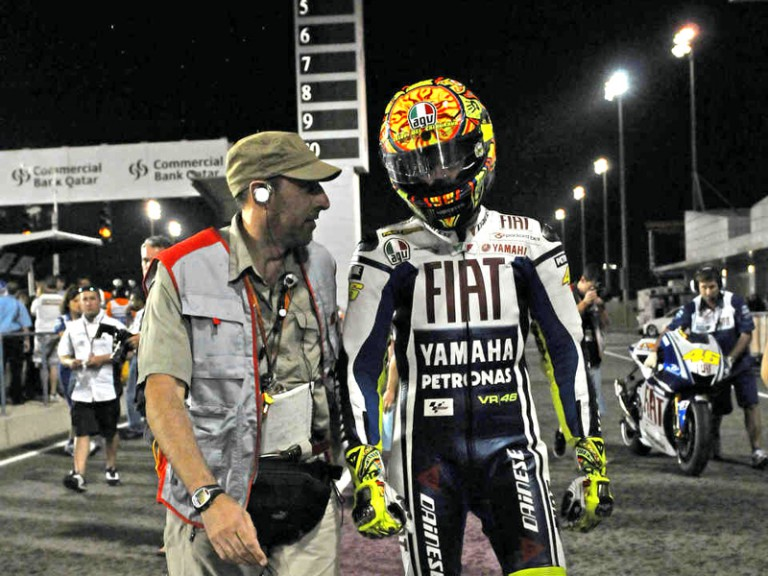 Rain-interrupted Qatar MotoGP Sunday race