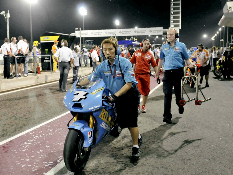 Rain-interrupted Qatar MotoGP Sunday race