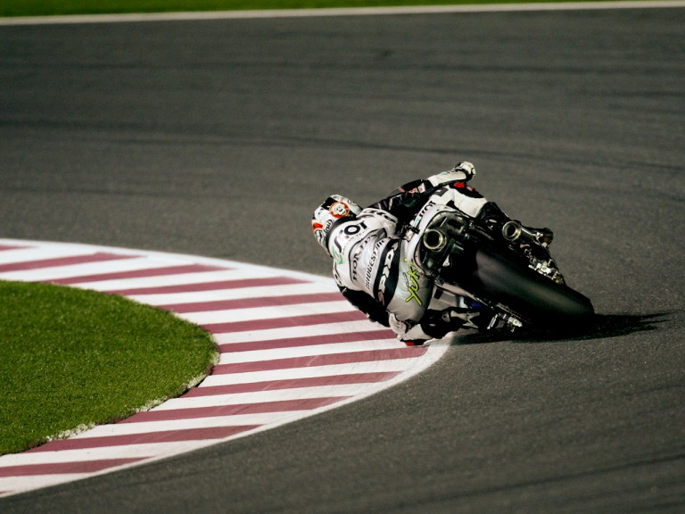 Yuki Takahashi in action in Qatar