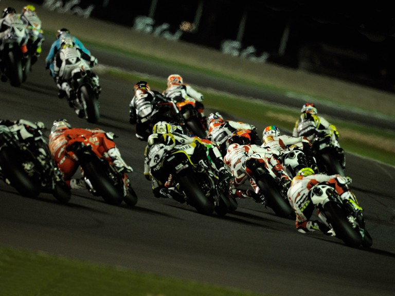 Action of MotoGP Group in Qatar