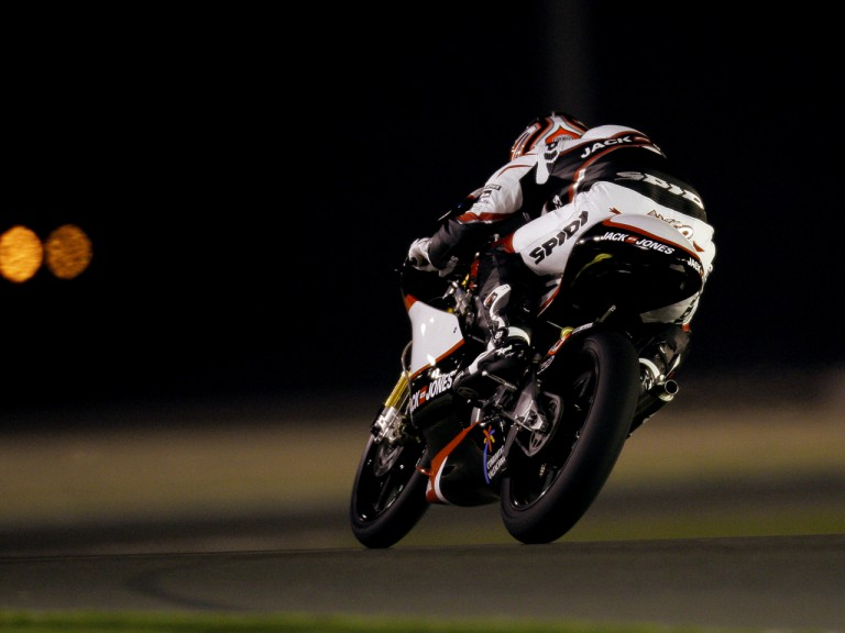 Nico Terol on track at Losail Circuit