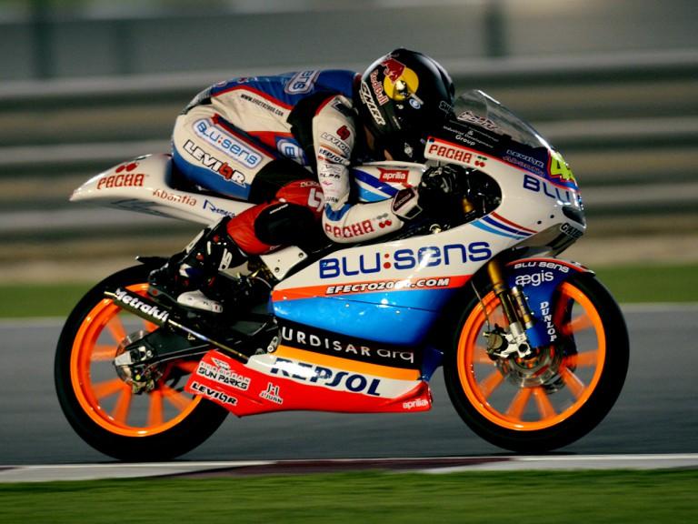 Scott Redding in action in Qatar