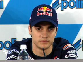 Dani Pedrosa in Japanese press conference