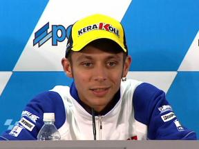 Valentino Rossi in Japanese press conference