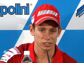 Casey Stoner in Japanese press conference