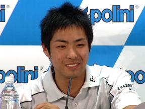Yuki Takahashi in Japanese press conference