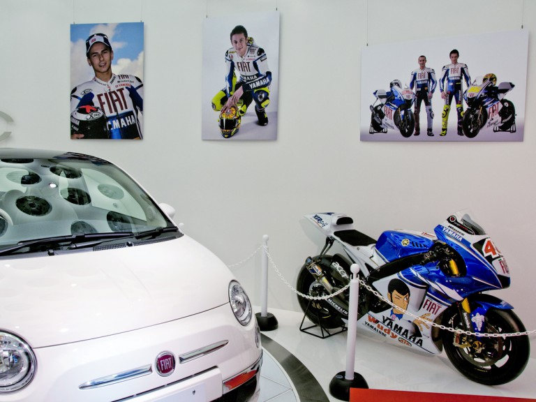 Fiat Yamaha Cafe in Tokyo