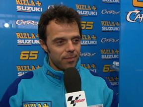 Capirossi on first day in Japan