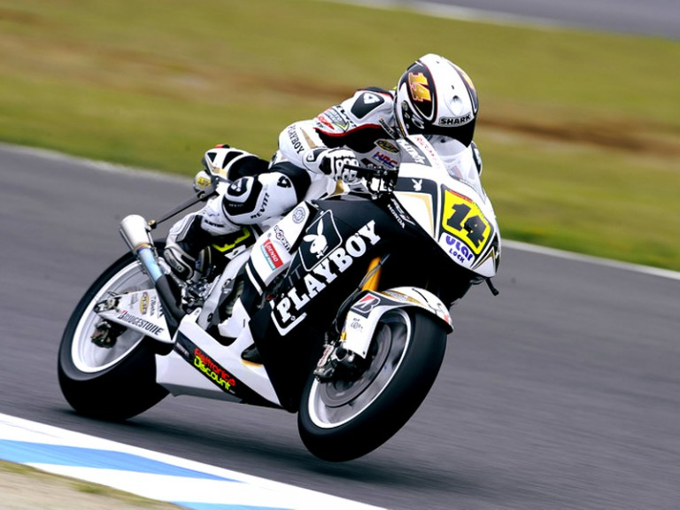 Randy de Puniet in action in Motegi