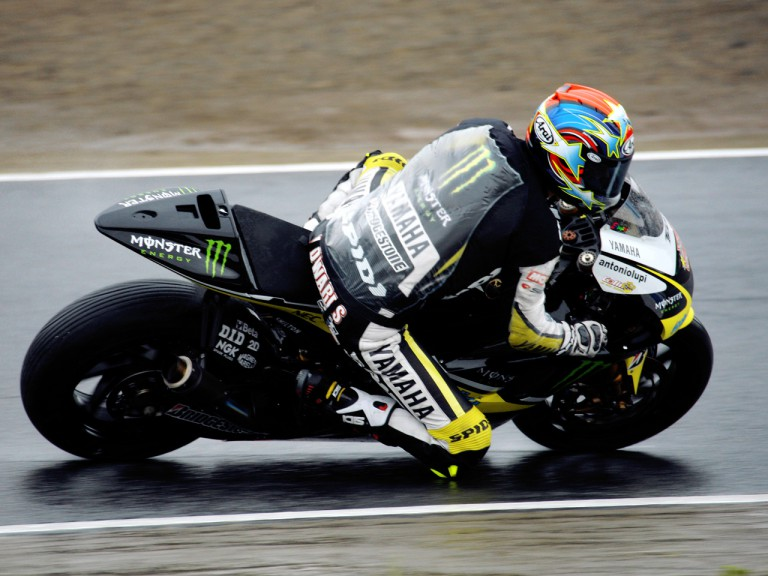 Colin Edwards in action in Motegi