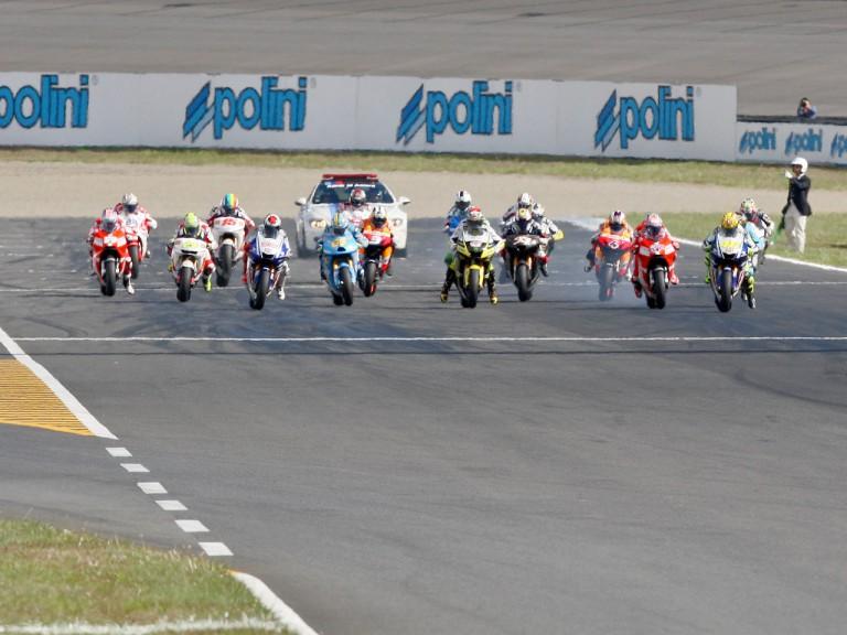 MotoGP action at Motegi 2009