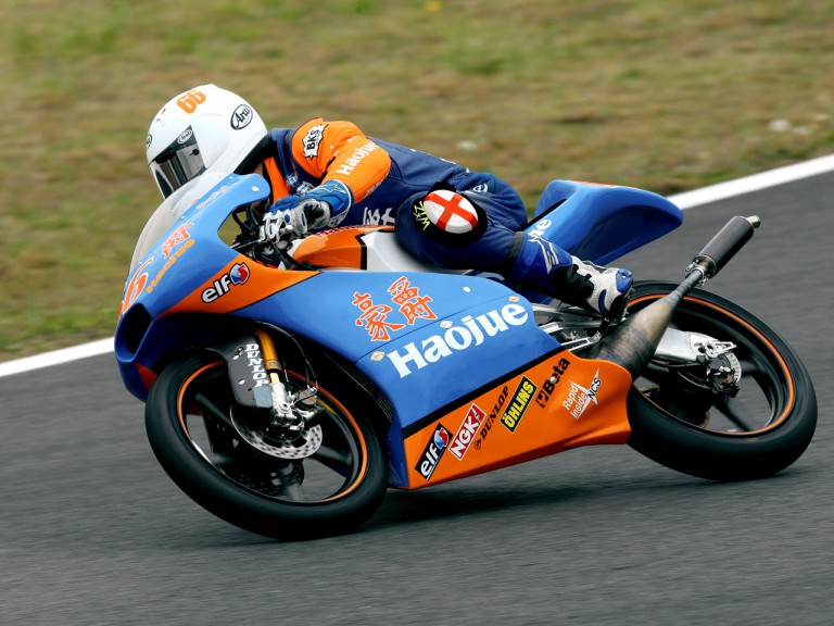 Matthew Hoyle on track at Motegi