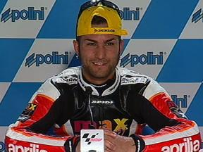 Valoración de Mattia Pasini tras la carrera de Japón