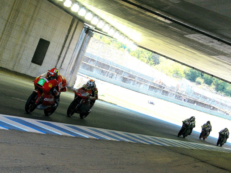 125cc Group in action in Motegi