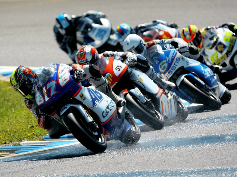 250cc Group in actin in Motegi
