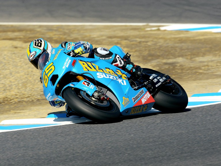 Loris Capirossi in action in Motegi