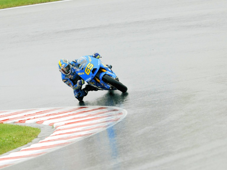 Loris Capirossi in action in Sachsenring