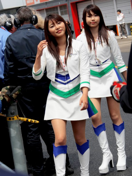 Paddock Girls - Motegi 2009 -