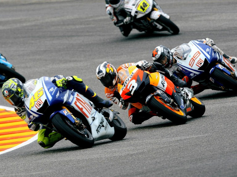 MotoGP Group in action in Mugello