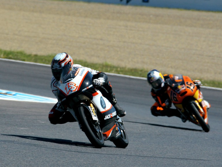 Nico Terol in action in Motegi
