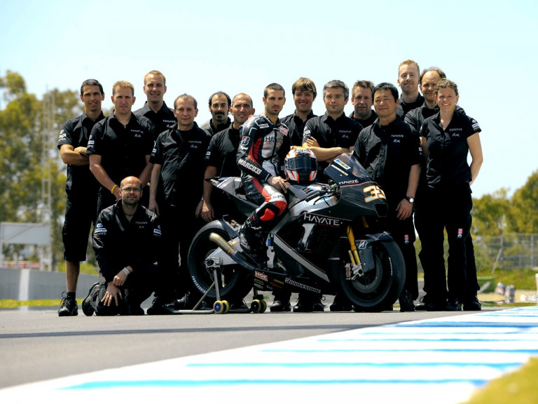 Hayate Racing Team photoshoot in Jerez