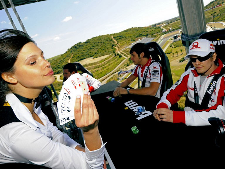 bwin.com Sky Platform hosts MotoGP poker game